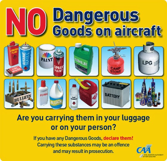 Air Travel Items Allowed