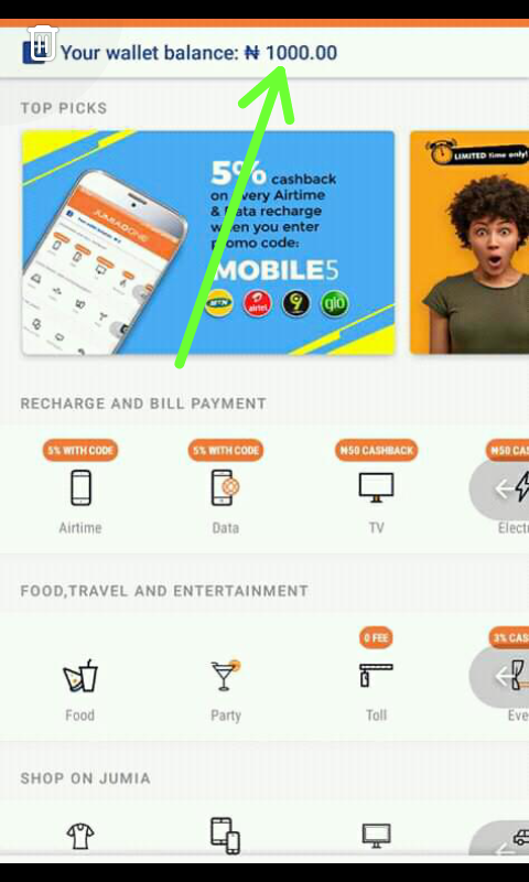 download jumia one app: get cashback and make money on jumia one app
