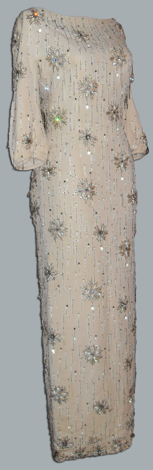 "Edie Adams gown by Galanos worn in ""The Best Man"""