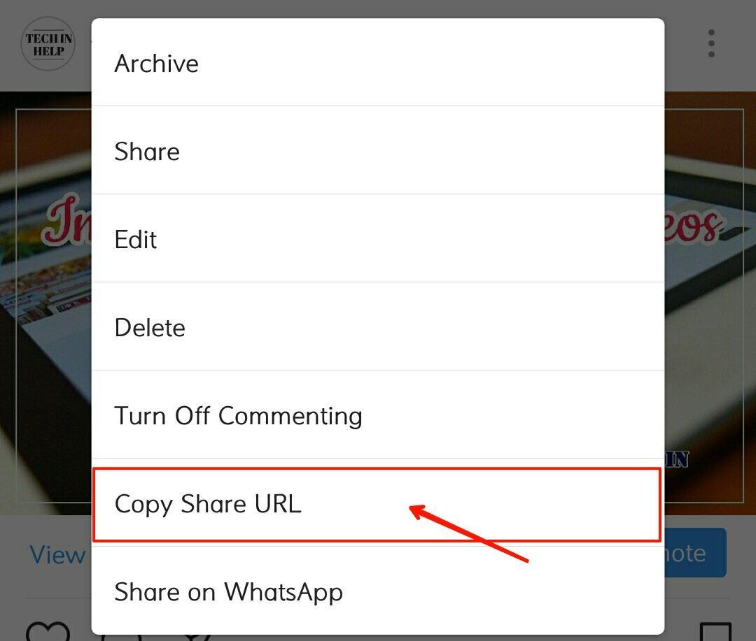 copy share url