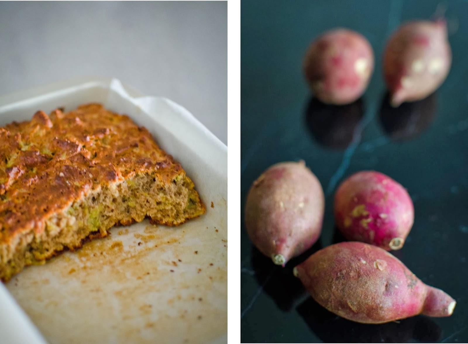 Korean Banana Cake Recipe: Sweet Potato Breakfast Bread Recipe