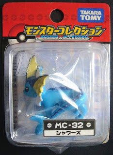 Vaporeon figure Takara Tomy Monster Collection MC series renewal version