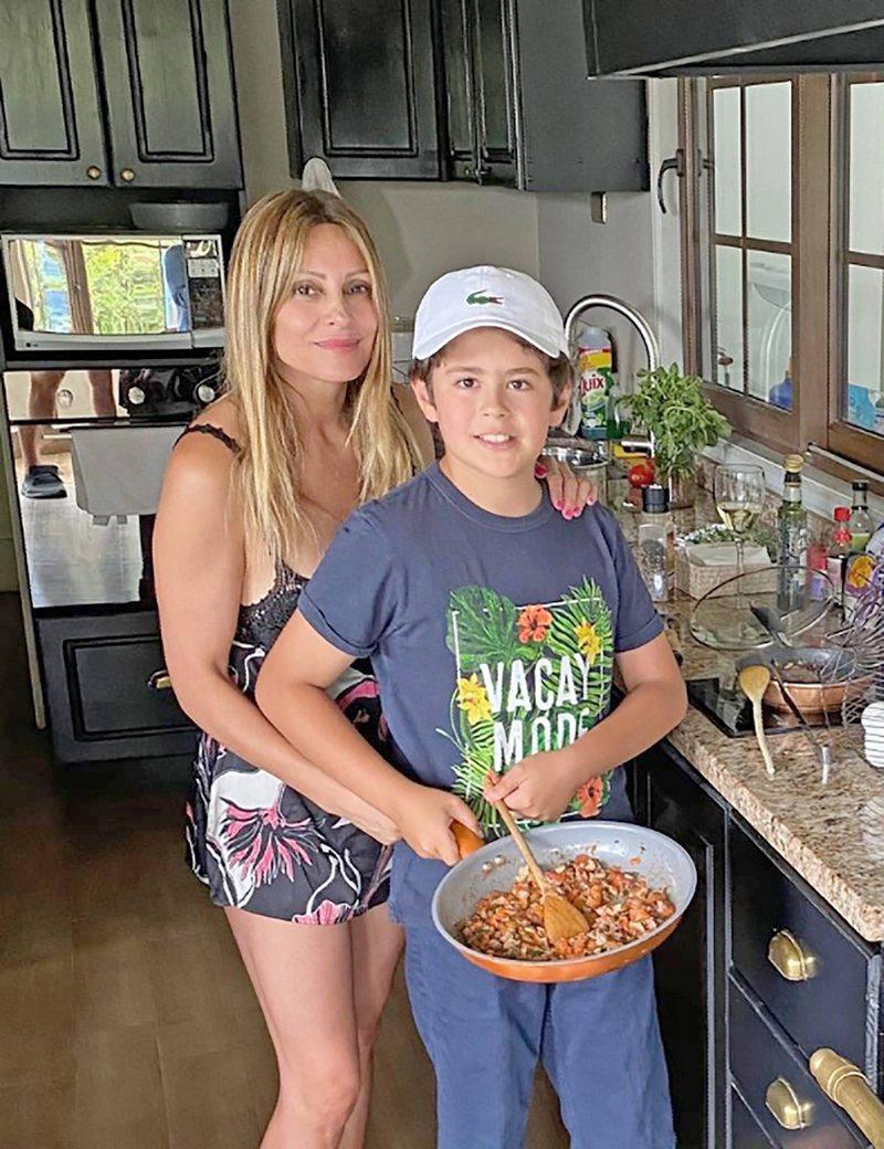 Cuatro datos de cocina del hijo de 10 años de Carola Julio