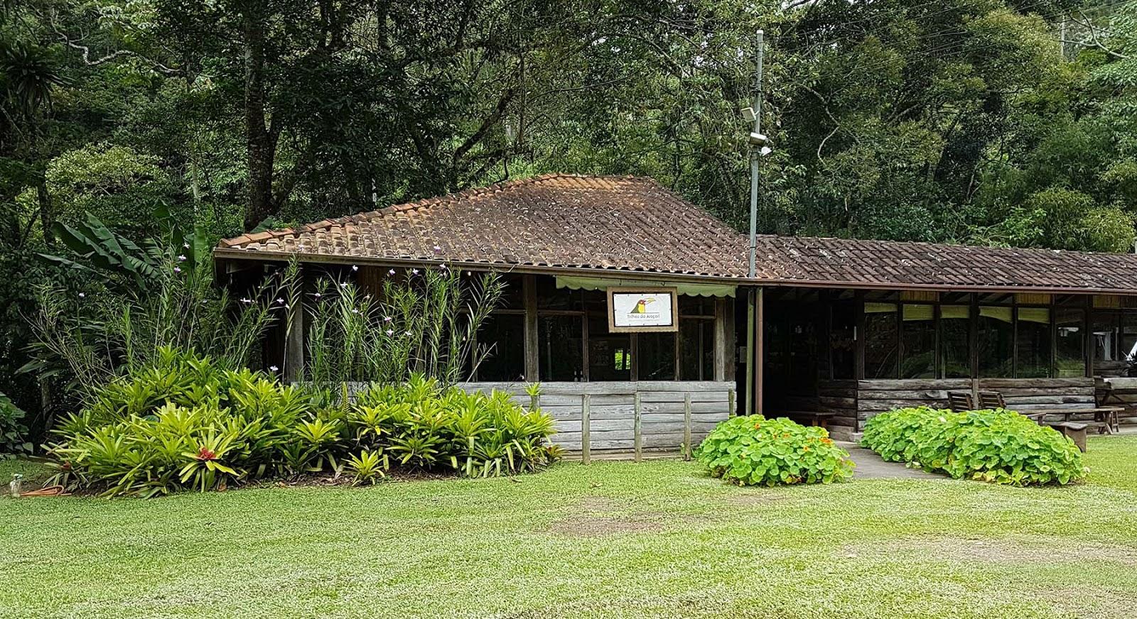 Restaurante Trilhas do Araçari em Mury