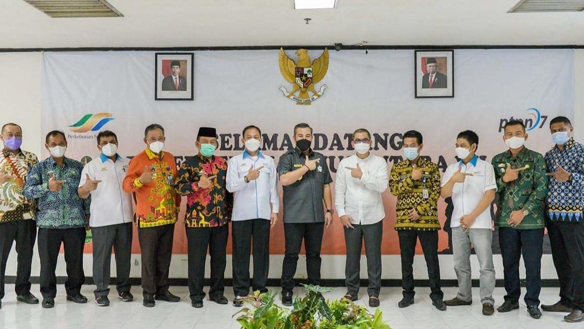 Ingin Bangun MPP Dilahan PTPN, Bupati Pesawaran Inginkan Bisa Dapat Restu