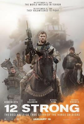 12 Strong 2018 DVD R1 NTSC Latino