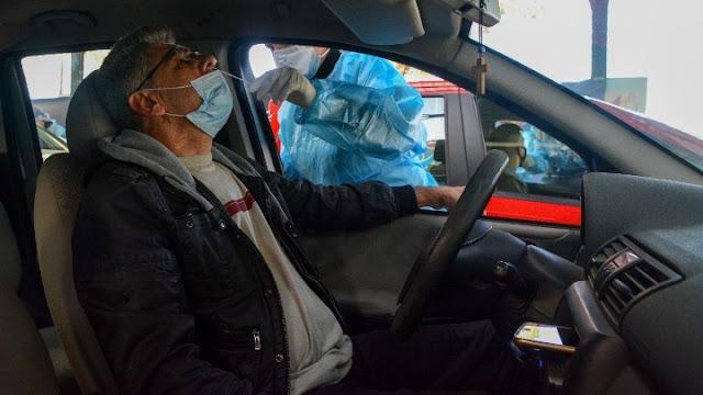 Πρόγραμμα διενέργειας test covid-19 από την ΚΟΜΥ Αργολίδας μέσα από το όχημα των διερχομένων