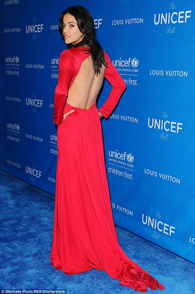 Michelle Rodriguez – 6th Biennial UNICEF Ball in Beverly Hills