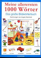 تعلم الألمانية, كتاب, book, Buch, deutsch lernen, Learn German, Meine allerersten 1000 wörter das grosse bildwörterbuch,