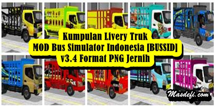 livery truk canter bussid