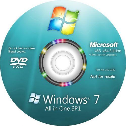 اسطوانة تجمعية لجميع اصدارات ويندوز 7 ب 3 لغات | للنواتين 32 و 64 بت