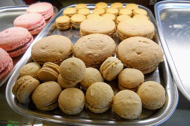 Paris to Normandy Road Trip: Gros macarons in Caen France
