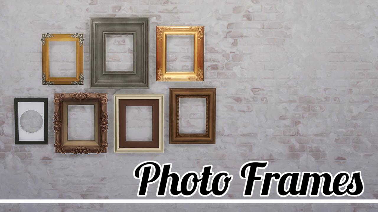 My Sims 4 Blog: Photo Frames by JoolsSimming