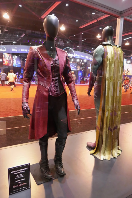 Avengers Scarlet Witch Vision movie costumes