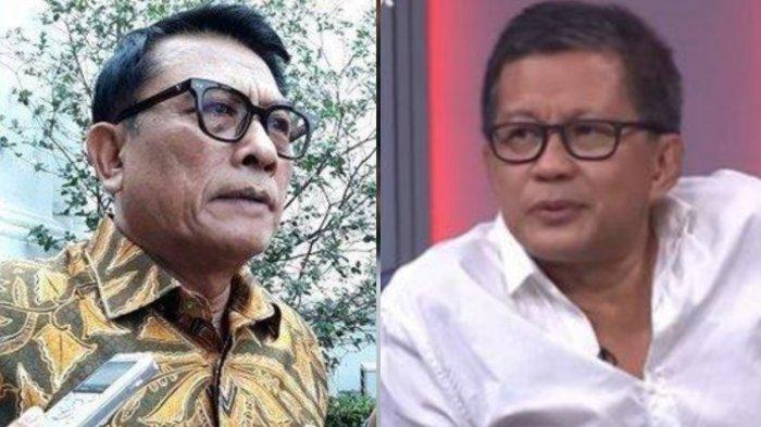 Kisruh Moeldoko dan AHY, Rocky Gerung: Masa Jenderal Kudeta Mayor, Harusnya Kan...