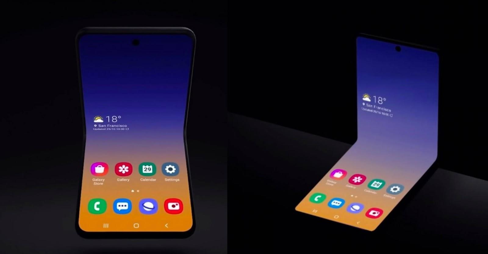 Bocoran Tersebar, Begini Foto Tampilan Samsung Galaxy Fold 2