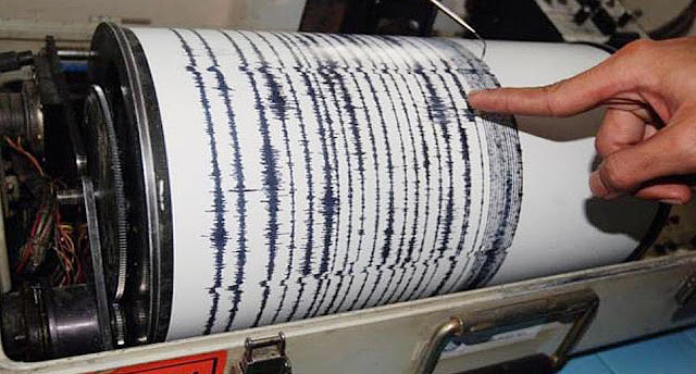 Grafik gempa bumi