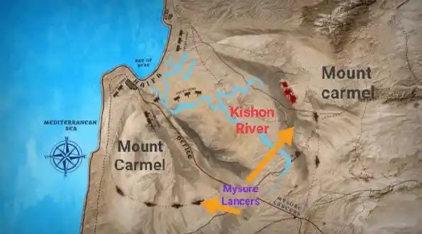 battle of Haifa Mysore lancers
