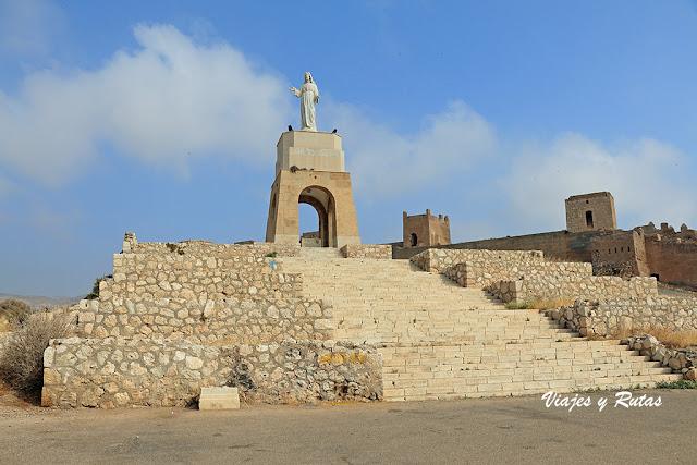 Mirador del cerro de San Cristóbal de Almería