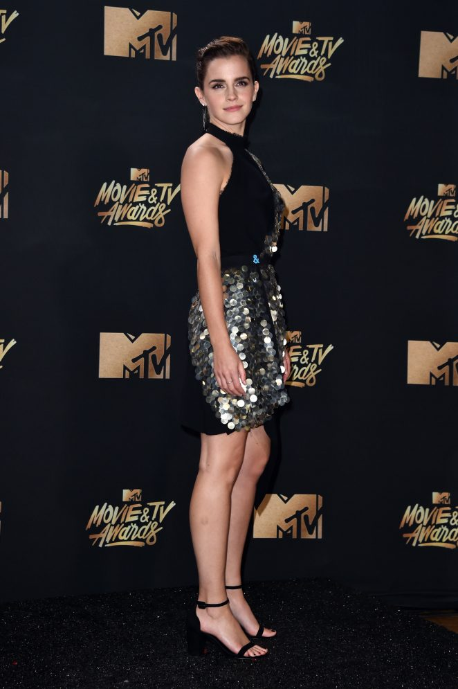 Emma Watson – 2017 MTV Movie And TV Awards in Los Angeles