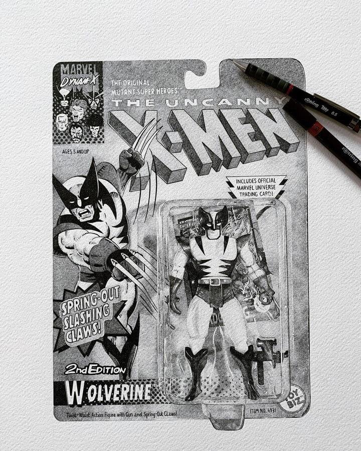 01-X-Men-Wolverine-Fred-Ughetto-www-designstack-co