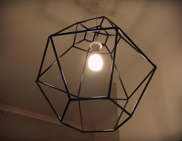 lampa loft zrób to sam