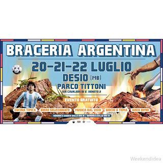 Braceria Argentina e Grill Festival 20-21-22 luglio Desio (MB)