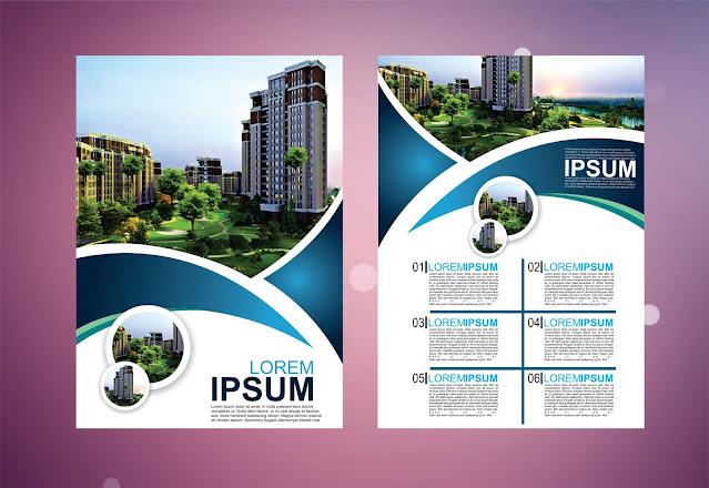 brochure design templates free download cdr in coreldraw | ब्रोचुरे डिजाईन टेम्पलेट 2020