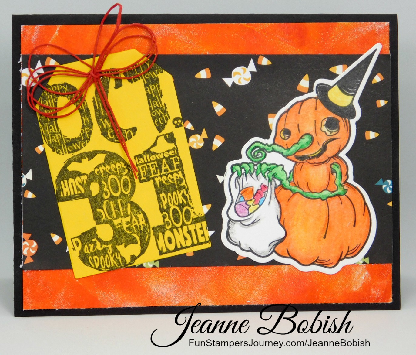 Great I Really Think That This Card Shows What Halloween Is All About, The Candy!  So Why Donu0027t You Create One Of These Cards And Send It Along To You  Favorite ... Design
