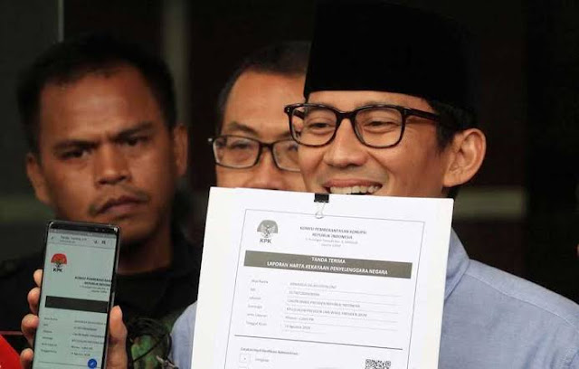 Yakin Sandiaga Jauh dari Korupsi, Gerindra: Dia Selesai Urusan Duniawi