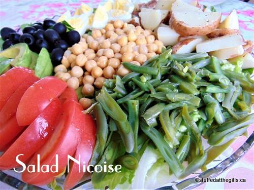 Vegetarian Salad Nicoise