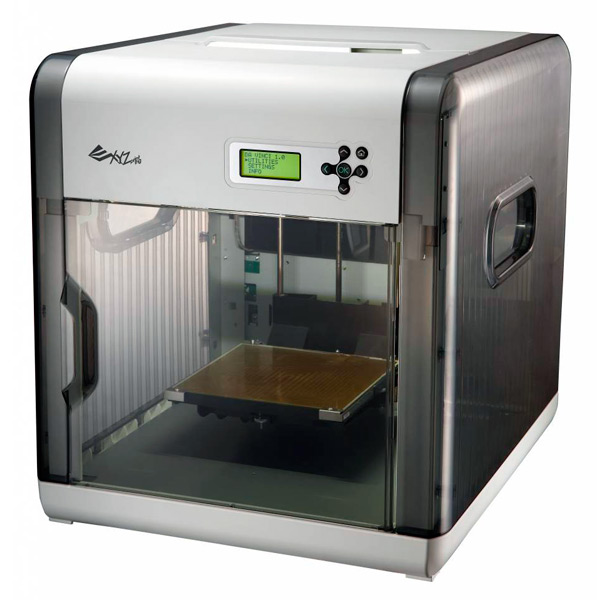 Setting up the XYZ Da Vinci 1 0a 3D printer with
