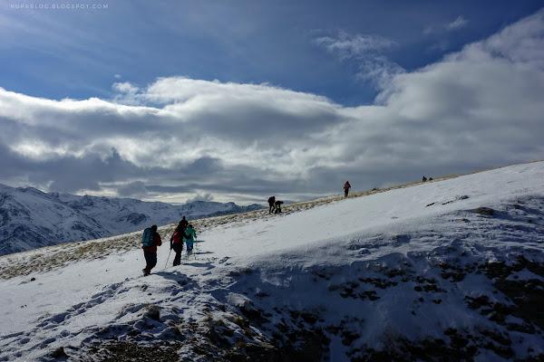 Выход на плато Кяпаза