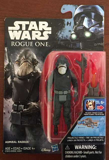 2017, Admiral Raddus, Saw Guererra, Moroff, Idrio Two Tubes, Death Trooper, The Black Series, Rogue One
