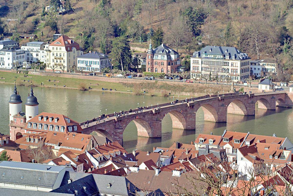 Auf dem Heidelberger Schloss (1)