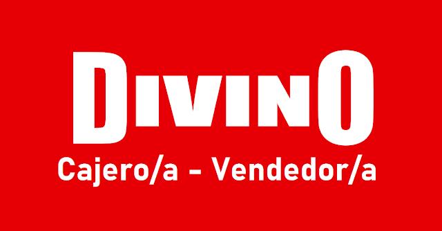 Cajero/a - Vendedor/a - DIVINO