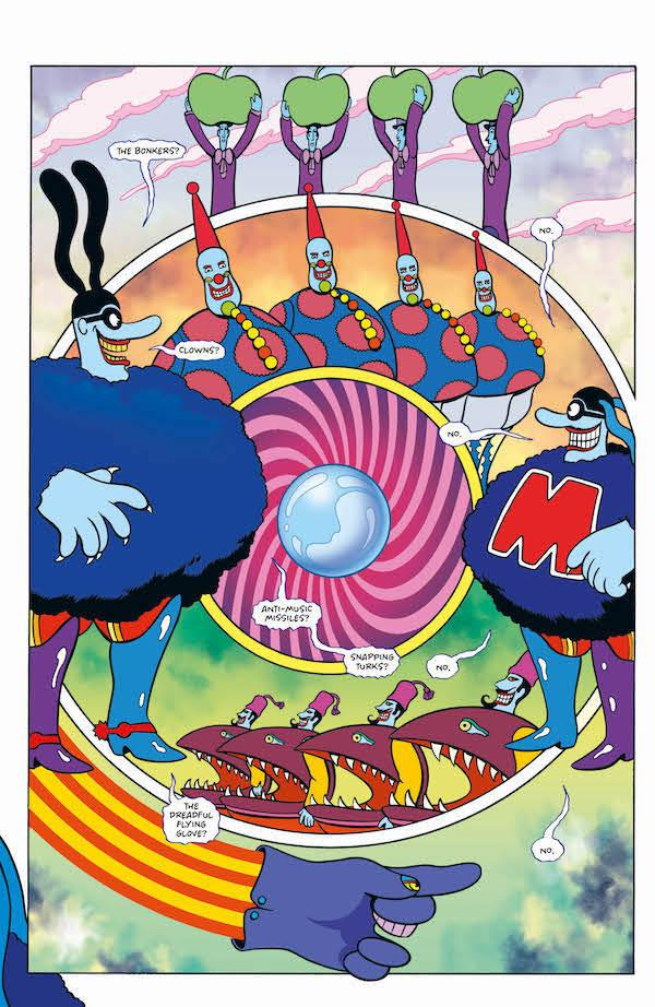 a review of Bill Morrison's The Beatles Yellow Submarine