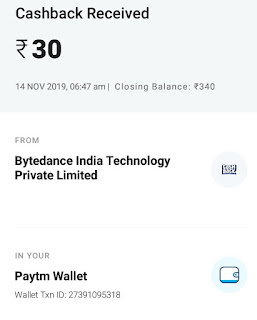 Helo earning app payment proof