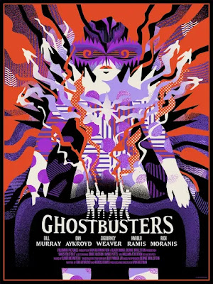 San Diego Comic-Con 2020 Exclusive Ghostbusters Movie Poster Screen Print by We Buy Your Kids x Mondo
