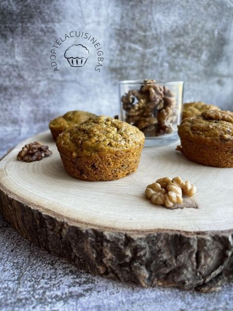 Muffin butternut cumin noix