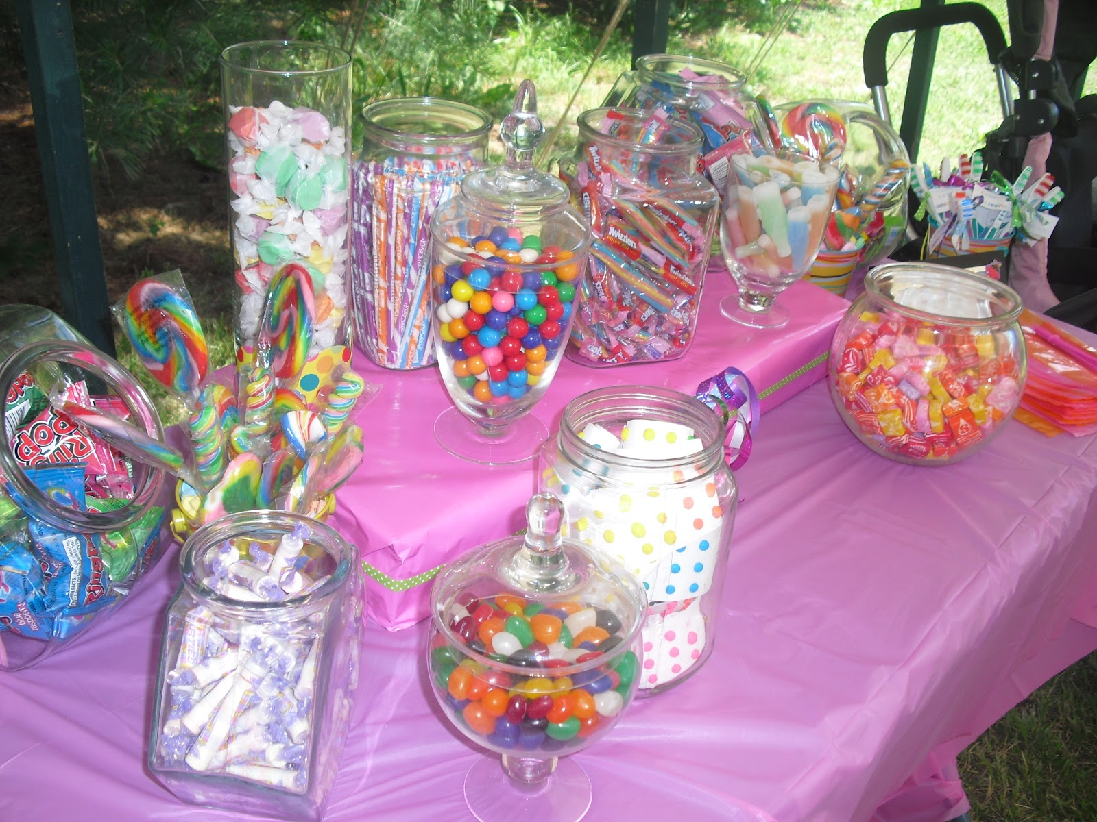 Mommy Bee S Buzz Sweet Shoppe Party Candy Buffet