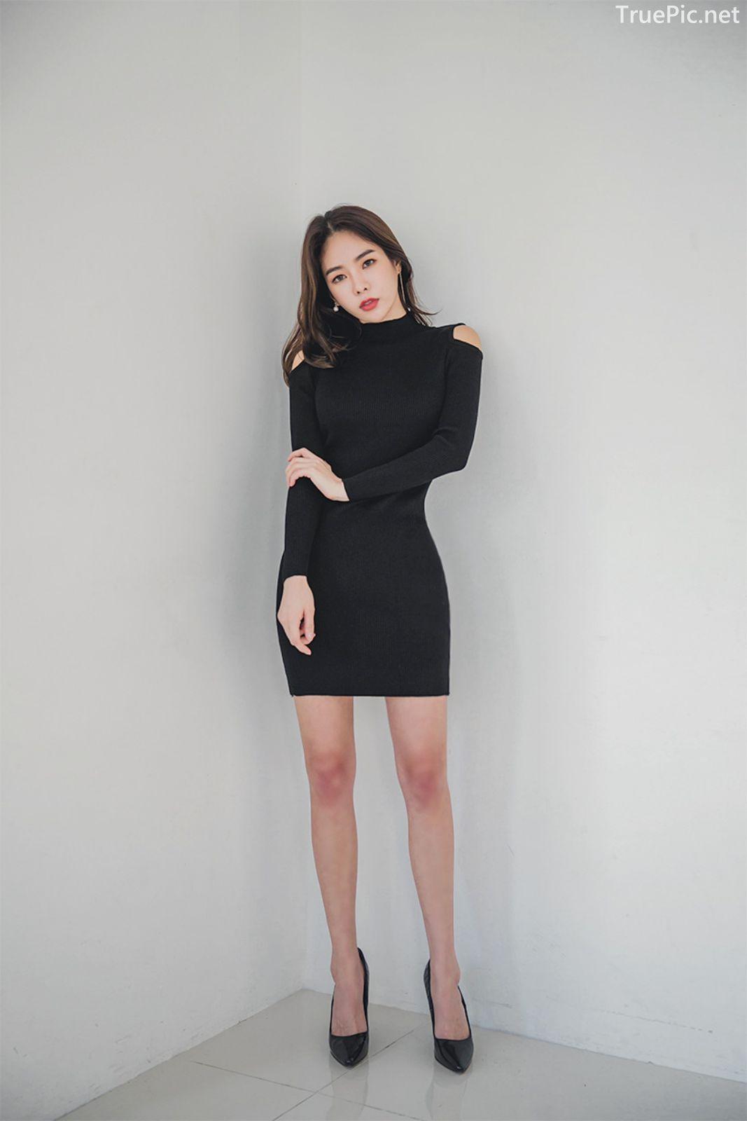 Korean fashion model - An Seo Rin - Woolen office dress collection - TruePic.net - Picture 8