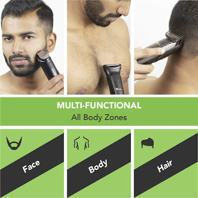 SYSKA Multi Grooming Kit HT4000K is an ultimate 5-in-1 head-to-toe trimmer. Its attachments will enable you to achieve various styling options with precision: no ...