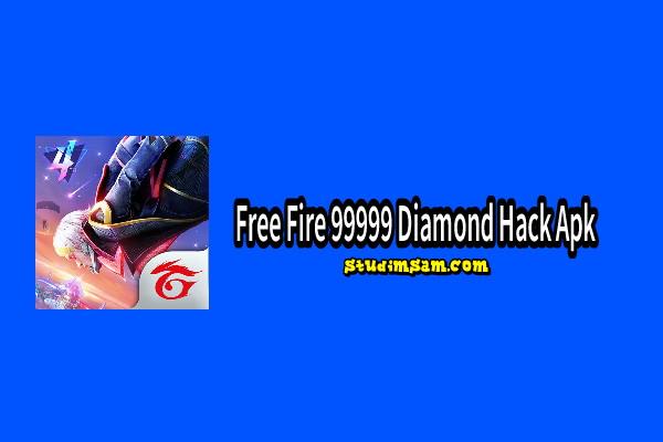 free fire 99999 diamond hack apk