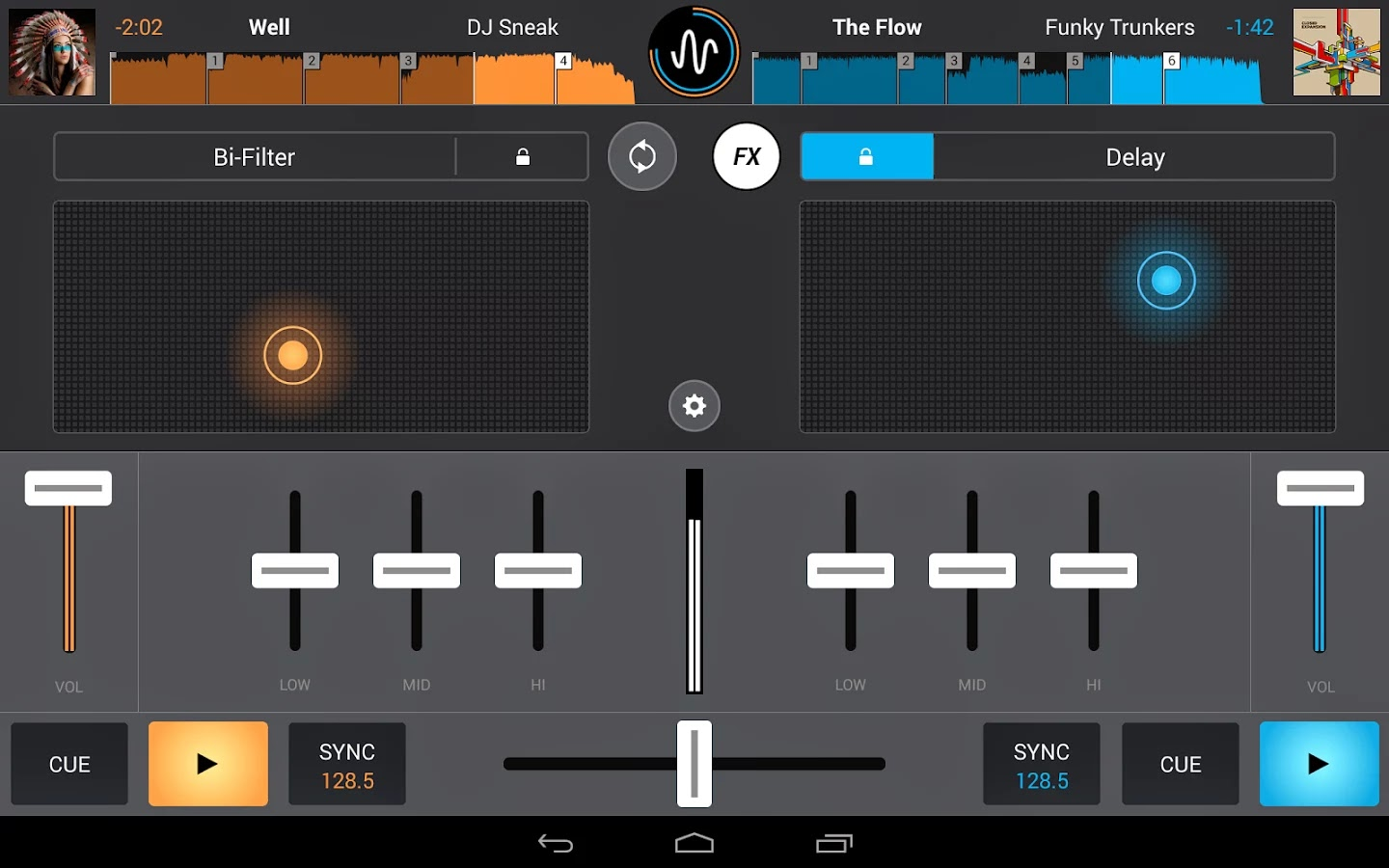 Cross DJ – Mix your music android uygulaması