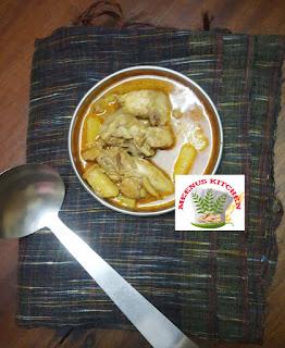 Nadan Chicken Pal curry