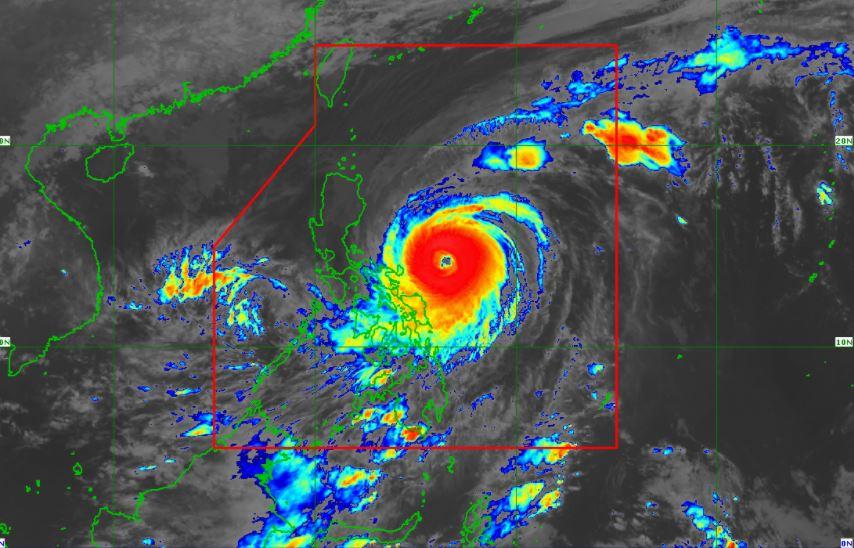 'Bagyong Bising' satellite image