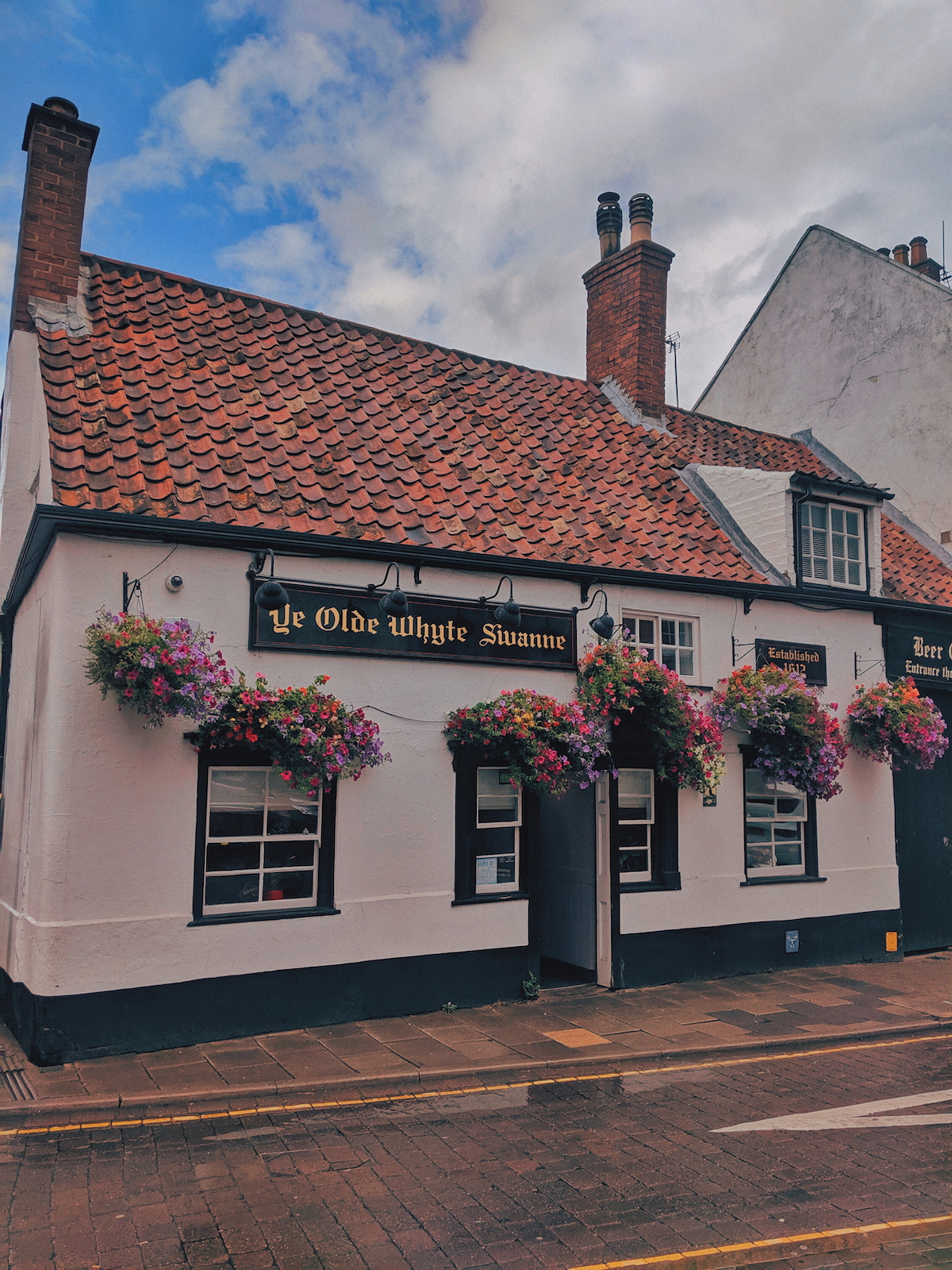 Ye Olde Whyte Swanne in  in Louth, Lincolnshire