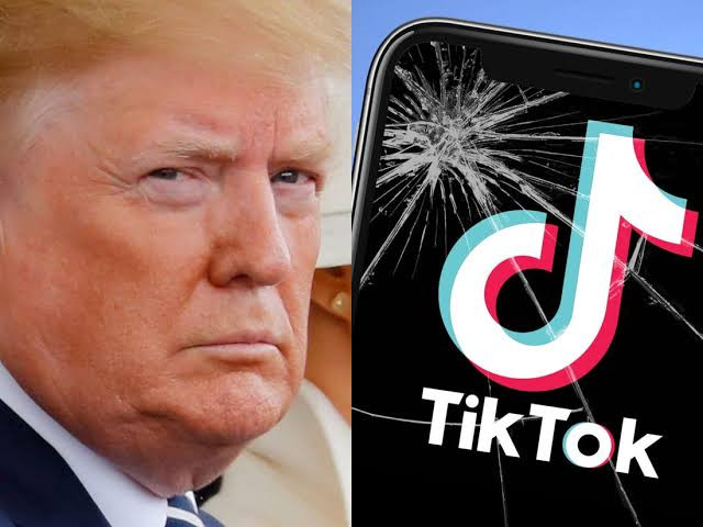 Trump says TikTok sale can go through but only if the US gets a cut