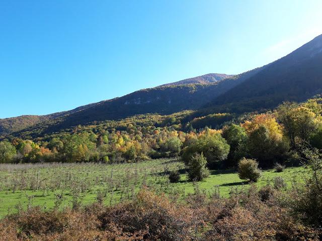 Da Civitella Alfedena, verso il Colle Jajacque